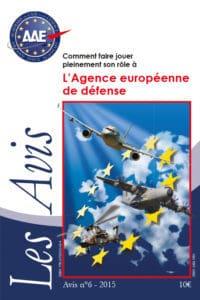 Avis n°6 – L'Agence européenne de défense