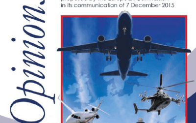 Opinion No. 8 on the European Strategy for Aviation proposed by the European Commission
