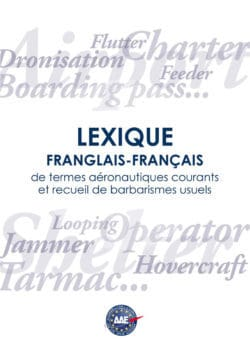 Frenglish-French Glossary of common aeronautical terms