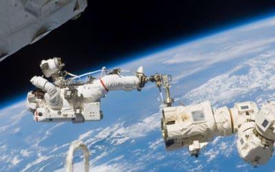 Vivre et travailler dans l'espace