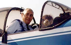 Tribute to Lieutenant SAGET, founding member of the AAE