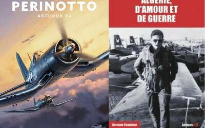 The Aero-Club de France awards a Literary Prize to Lucio Perinotto and Germain Chambost
